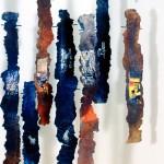 Morceaux d'humanité—Collectif Céline Goudreau et Hélène Plourde—1996—Acrylique et collage sur papier