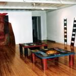 Installation—Exposition Centre des Gouverneurs, Sorel—Collectif Céline Goudreau et Hélène Plourde