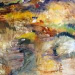 De passage #25—2009—Acrylique sur toile—90 x 90 cm