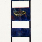 En voie de devenir no.2—1993—Acrylique sur bois—120 x 30,5 cm