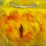 Arches fécondes—1992—Acrylique sur toile—91,5 x 92,5 cm