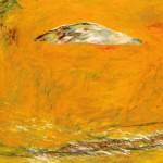 Avant l'action—1990—Acrylique sur toile—122 x 186 cm